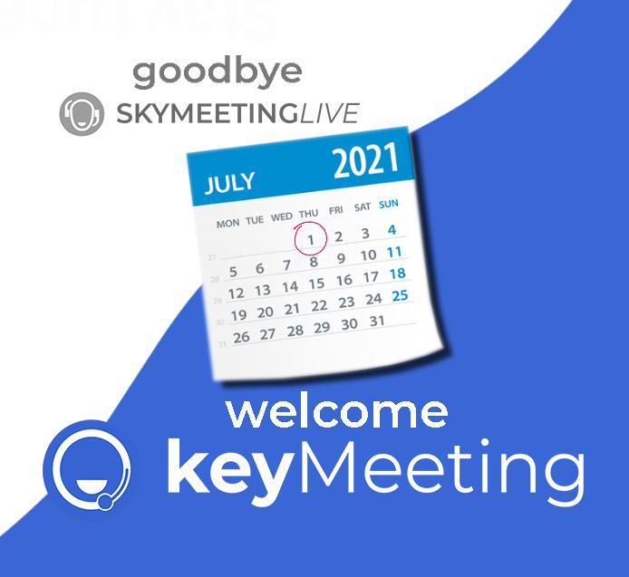 Metamorfosi di un brand: SkyMeeting si trasforma in KeyMeeting